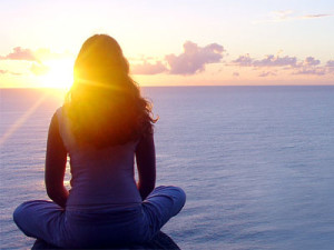 Meditation-peace-sunset