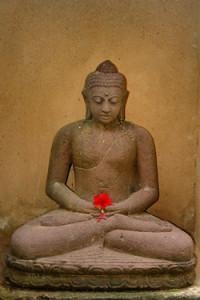 Vipassana Meditation statue