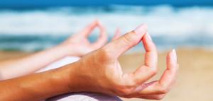 meditate hands